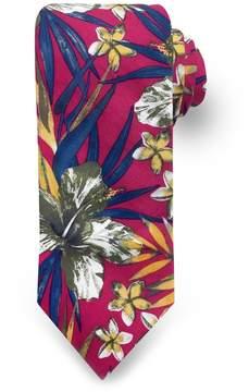 DAY Birger et Mikkelsen Men's Rooster Tropical Leaf Floral Tie