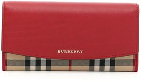 Burberry Porter Wallet - PARADE RED ROSSO - STYLE