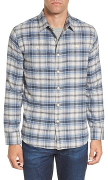 Grayers Men's Campton Heritage Plaid Flannel Shirt