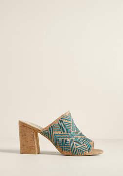 Sbicca Doolin Shoe Company Footwear Mule Me Once Block Heel