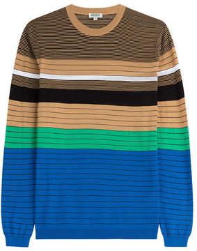 Kenzo Striped Cotton Pullover