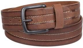Levi's Men's Center-Stitched Leather Belt