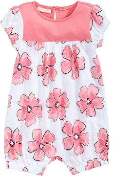 First Impressions Floral-Print Cotton Romper, Baby Girls (0-24 months), Created for Macy's