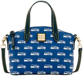 Dooney & Bourke Seattle Seahawks Ruby Mini Satchel Crossbody - BLUE - STYLE