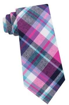 Lord & Taylor The Mens Shop Baker Plaid Cotton Tie