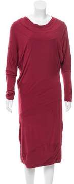 Calvin Klein Collection Draped Midi Dress w/ Tags
