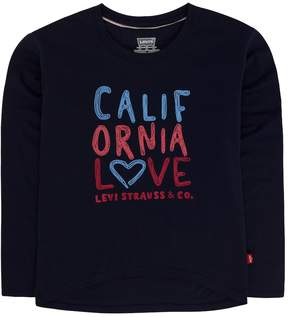 Levi's Girls 4-6x California Love High-Low Tee