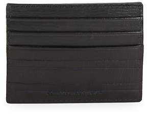 John Varvatos Men's Clawed Textured Leather Card Case