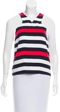 Armani Exchange Sleeveless Striped Top w/ Tags