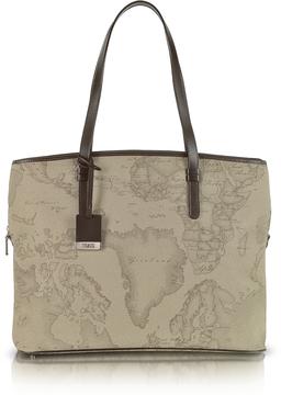 Alviero Martini 1A Classe 1a Prima Classe - Geo Printed Large Business New Classic Shoulder Bag