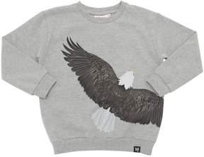 Molo Eagle Printed Cotton Sweatshirt