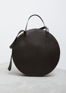 Marni black + fog shopping bag