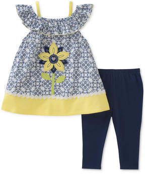 Kids Headquarters 2-Pc. Tunic & Leggings Set, Little Girls