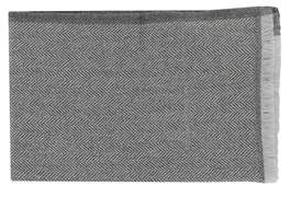 Salvatore Ferragamo Men's Grey Wool Scarf.