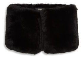 Fendi Monster Rex Rabbit Fur Snood