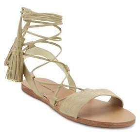G.H. Bass Savannah Gladiator-Inspired Leather Sandals
