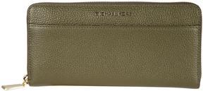 MICHAEL Michael Kors Mercer Zip Around Wallet - VERDE OLIVA - STYLE