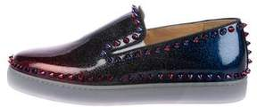 Christian Louboutin Pik Boat Slip-On Sneakers