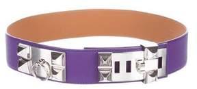 Hermes Epsom Collier De Chien Belt