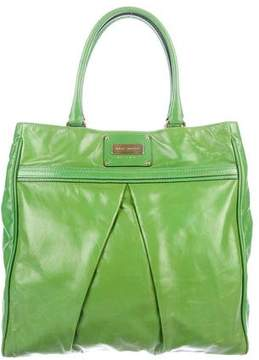 Marc Jacobs Large Pleated Leather Tote