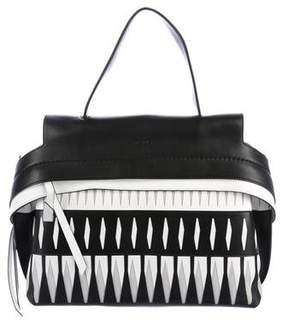 Tod's Small Wave Laser Cut Satchel