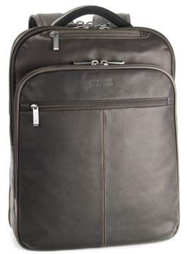 Kenneth Cole Reaction Columbia Leather Backpack