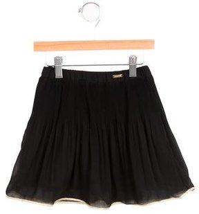 Junior Gaultier Girls' Pleated Circle Skirt