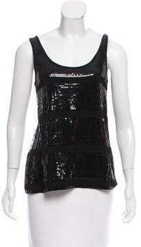 White + Warren Sequined Sleeveless Top w/ Tags