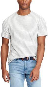 Chaps Men's Classic-Fit Striped Heathered Tee