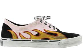 Palm Angels Flame Distressed Sneakers