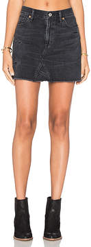 Citizens of Humanity Cut Off Mini Skirt.
