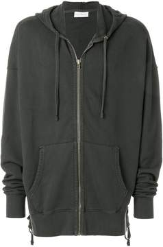 Faith Connexion oversized zipped hoodie