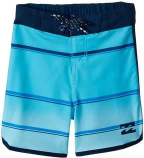 Billabong Kids 73 X Stripe Boardshorts Boy's Swimwear