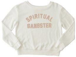 Spiritual Gangster Toddler Girls SG Collegiate Arch Savasana Pullover 8156431