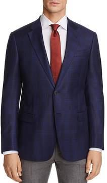 Armani Collezioni Plaid Classic Fit Sport Coat
