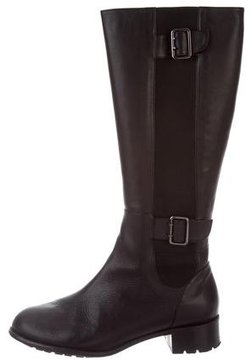 Taryn Rose Leather Knee-High Boots