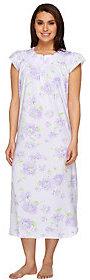 Carole Hochman Short Sleeve Floral Nightgown