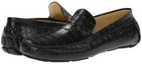 Matteo Massimo Croc Driver Men's Flat Shoes