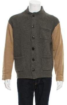 Dries Van Noten Woven Button-Up Cardigan