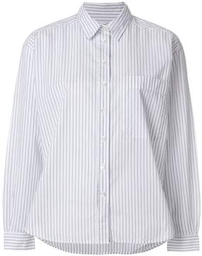 Closed striped button shirt