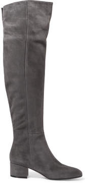 Gianvito Rossi 45 Suede Over-the-knee Boots - Gray