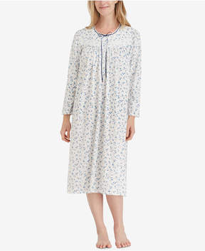 Eileen West Printed Ballet Nightgown