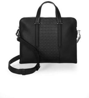 Salvatore Ferragamo Gancio Soft Leather Briefcase