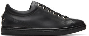 Jimmy Choo Black Stars Cash Sneakers