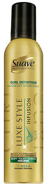 Suave Curl Defining Mousse Luxe Style Infusion