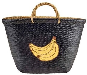 Women's San Diego Hat Company Seagrass Banana Tote BSB1716