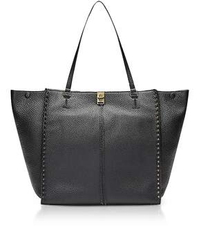 Rebecca Minkoff Black Grainy Leather Darren Tote - ONE COLOR - STYLE