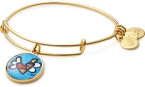 Alex and Ani Heart with Wings Art Infusion Charm Bangle | Romero Britto