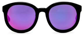 Cat Eye AQS Betty 51mm Rounded Sunglasses