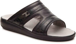 Hogan Men's Leather Slide Sandal